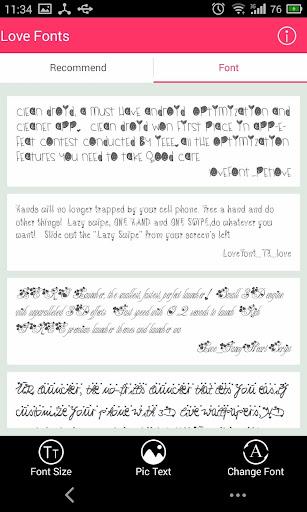 【免費個人化App】Free Font - Love-APP點子