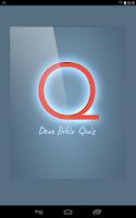 Screenshot of Devo Bible Quiz