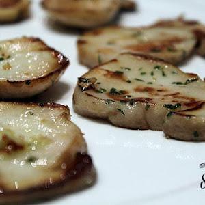 Grilled Mushroom Caps