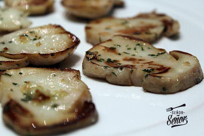 Grilled Mushroom Caps Recipe