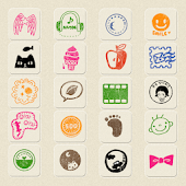 CUKI Theme Stamp's Icon