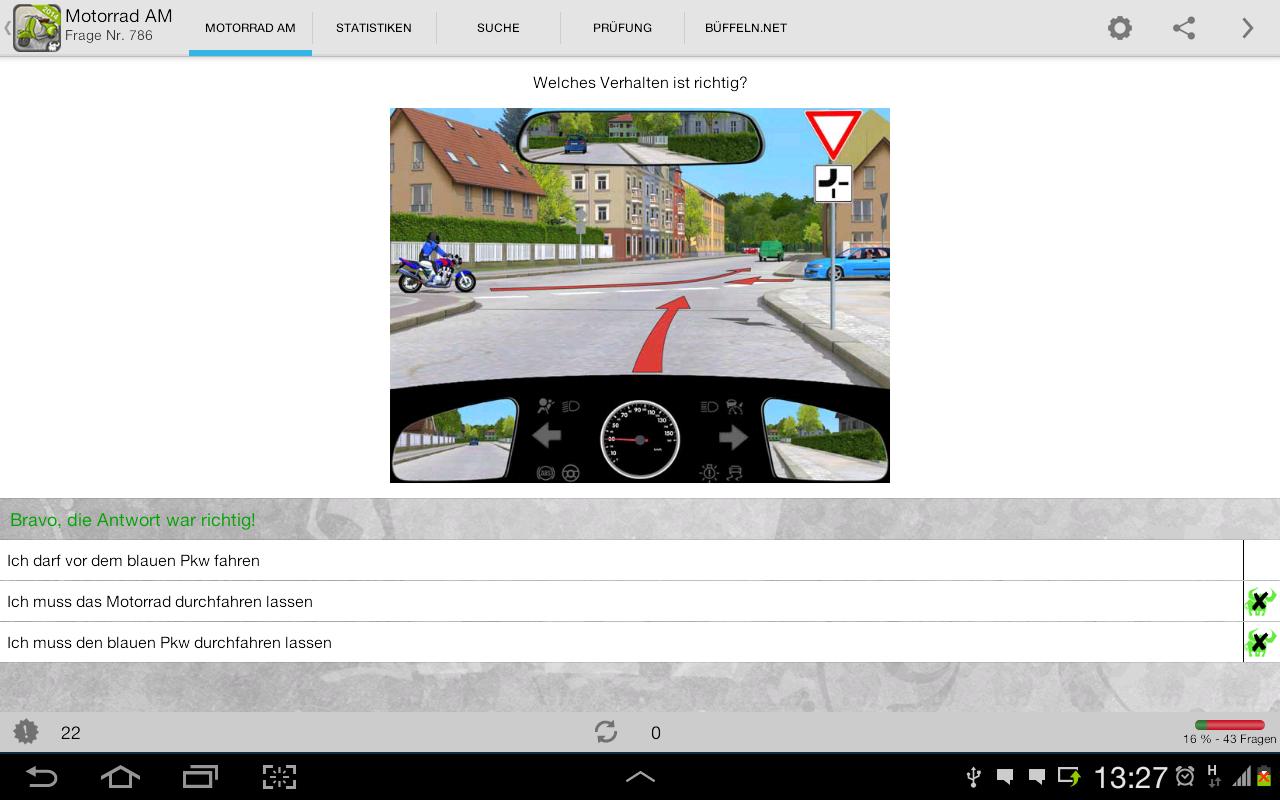 f hrerschein kl am motorrad android apps on google play. Black Bedroom Furniture Sets. Home Design Ideas