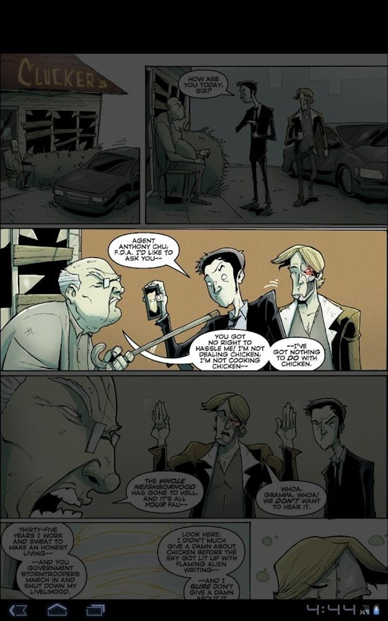 Chew, Vol. 4 - screenshot