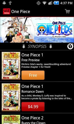 VIZ Manga Screenshot