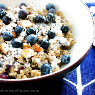 Protein-Packed Breakfast Quinoa Bowl [Vegan, Gluten-Free].