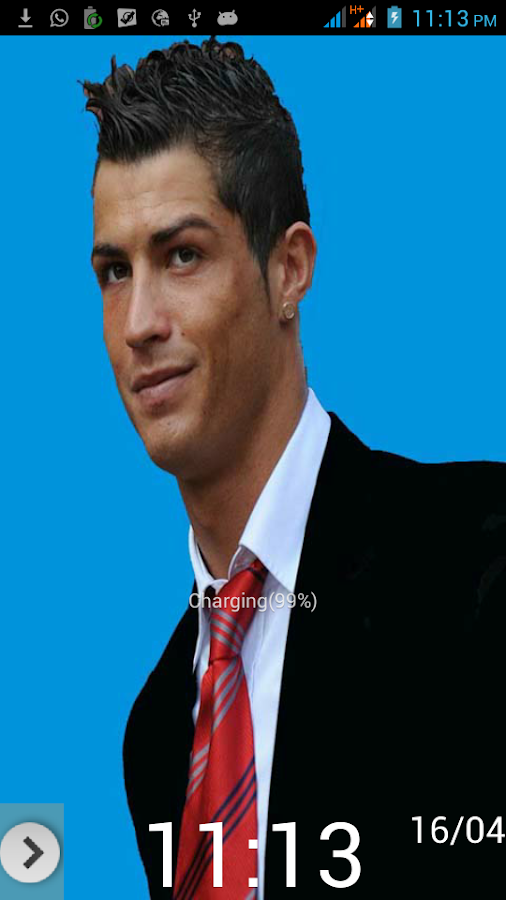 Crazy Ronaldo Go Locker - screenshot