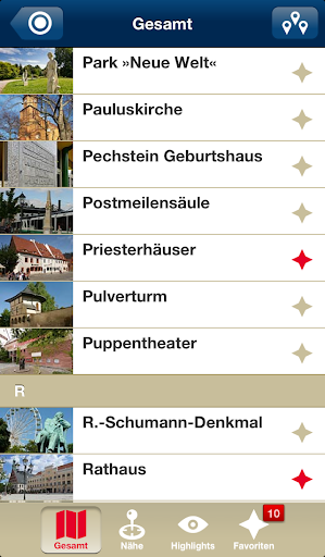 Zwickau Tourismus App