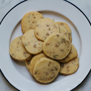 Wild Hickory Nut Shortbread Cookies.