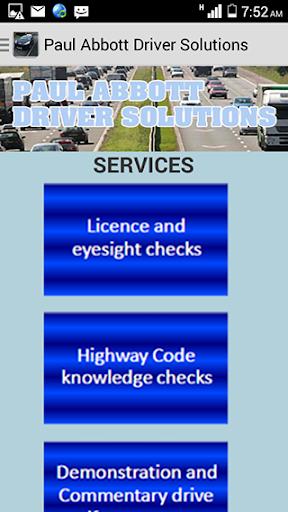Paul Abbott Driver Solutions