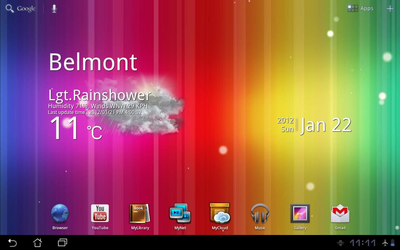 Spectrum ICS Live Wallpaper- screenshot