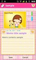 Screenshot of S`Memo Lite(free)