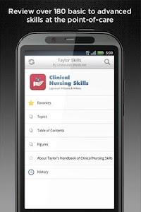 Taylor's Nursing Skills v2.1.40