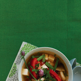 Tomato and Tofu Soup