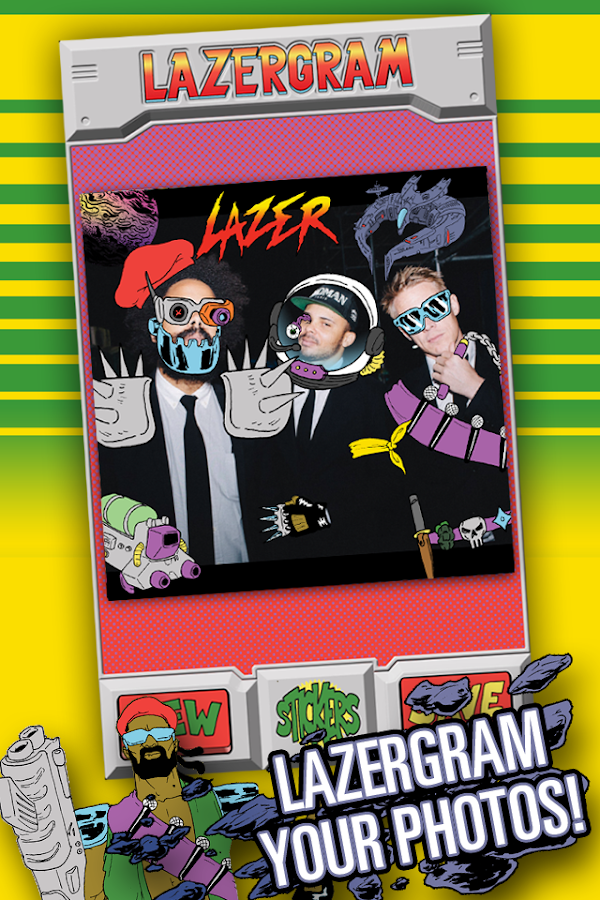 Lazergram - screenshot