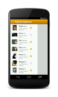 Fido Pet Adoptions - screenshot thumbnail