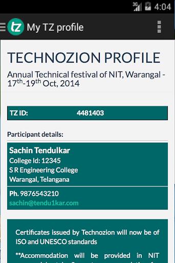 Technozion 14 NIT Warangal