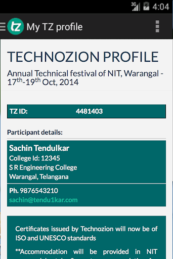 【免費社交App】Technozion 14, NIT Warangal-APP點子