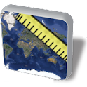 Maps Ruler logo