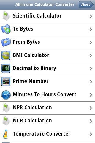 All inone Calculator Converter