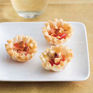 Red Pepper Jelly-Brie Bites
