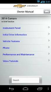 myChevrolet- screenshot thumbnail