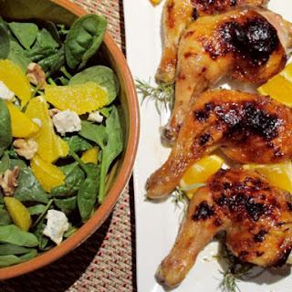 Orange Glazed Chicken.