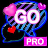 GO SMS PRO Zebra Love Theme V1