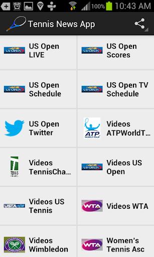 Tennis News App