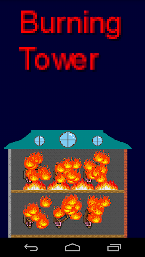 【免費街機App】Burning Tower-APP點子