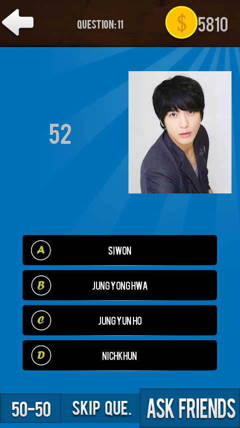 KPop Quiz Game - screenshot