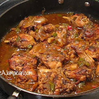 Jamaican Brown Stew Chicken.