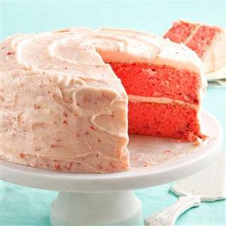 Mamaw Emily's Strawberry Cake