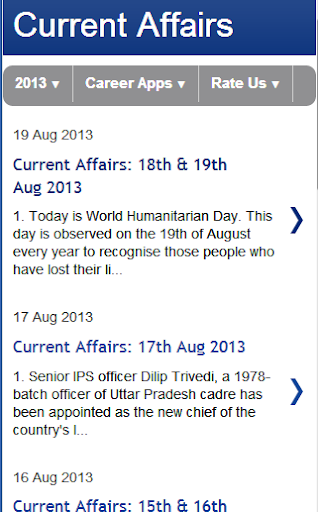 Current Affairs 2014 Latest