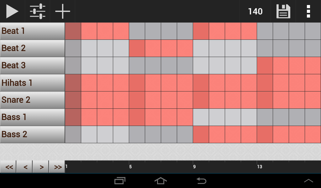 GrooveMixer - Music Beat Maker - screenshot