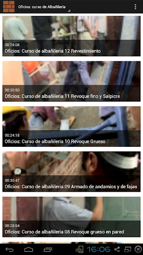 Oficios: Curso de Albañilería