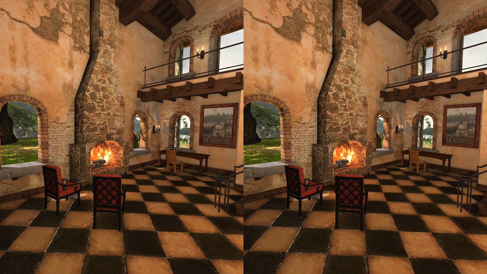 Tuscany Mansion in VR- screenshot