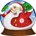 Kids Christmas Snow Globe icon