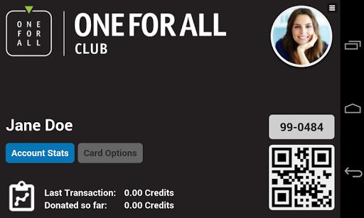 OneForAllClub Card