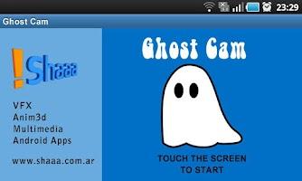 Screenshot of Ghost Cam Lite