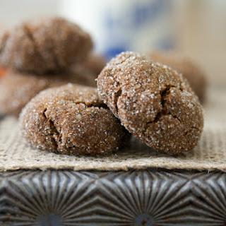 The Perfect Molasses Cookie (Grain Free, Paleo, Gluten Free).