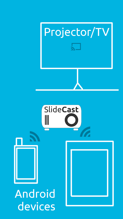 SlideCast (Chromecast)- screenshot