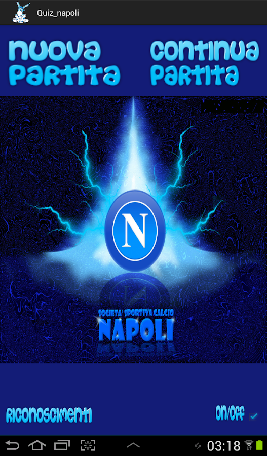 QUIZ NAPOLI - screenshot
