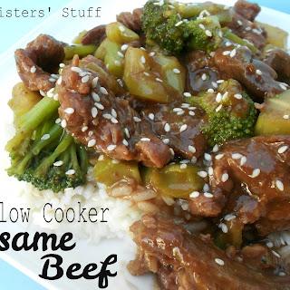 Slow Cooker Sesame Beef