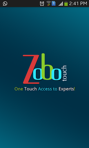 Zobo Touch: Book Home Service