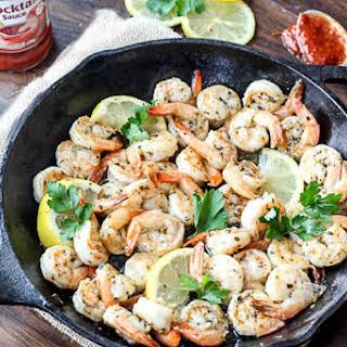 Italian Seasoned Better Shrimp.