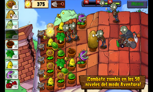Plants vs. Zombies™: miniatura de captura de pantalla