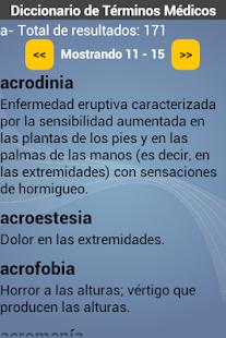 玩醫療App Diccionario de Medicina免費 APP試玩