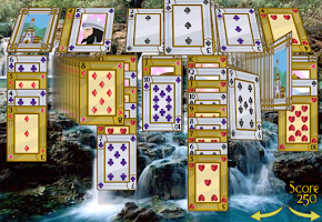 Screenshot of Solitaire 3D Pro -