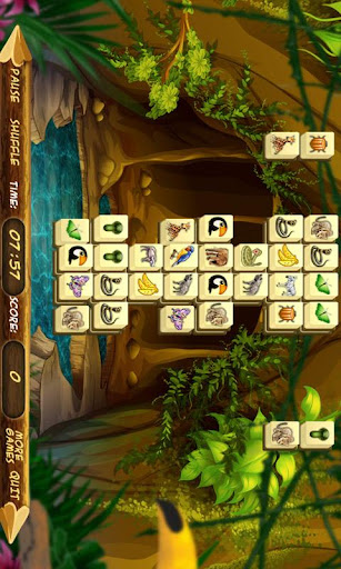【免費解謎App】Jungle Animals Mahjong Free-APP點子