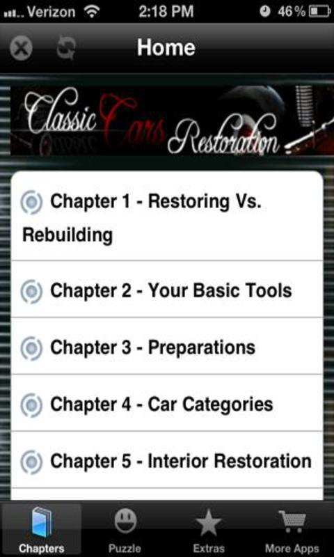 Classic Cars Restoration Free - screenshot